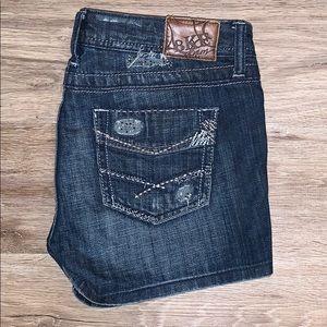 Like New BKE Madison jean shorts
